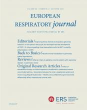 European Respiratory Journal: 58 (4)